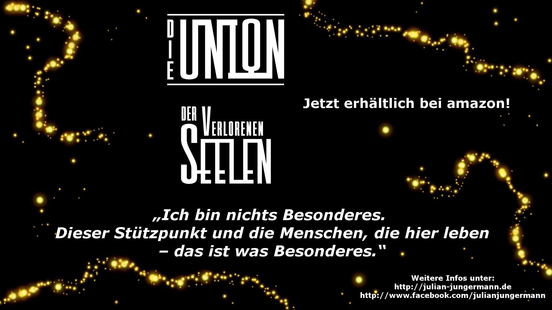 Debutroman der Union-Trilogie: Release bei Amazon